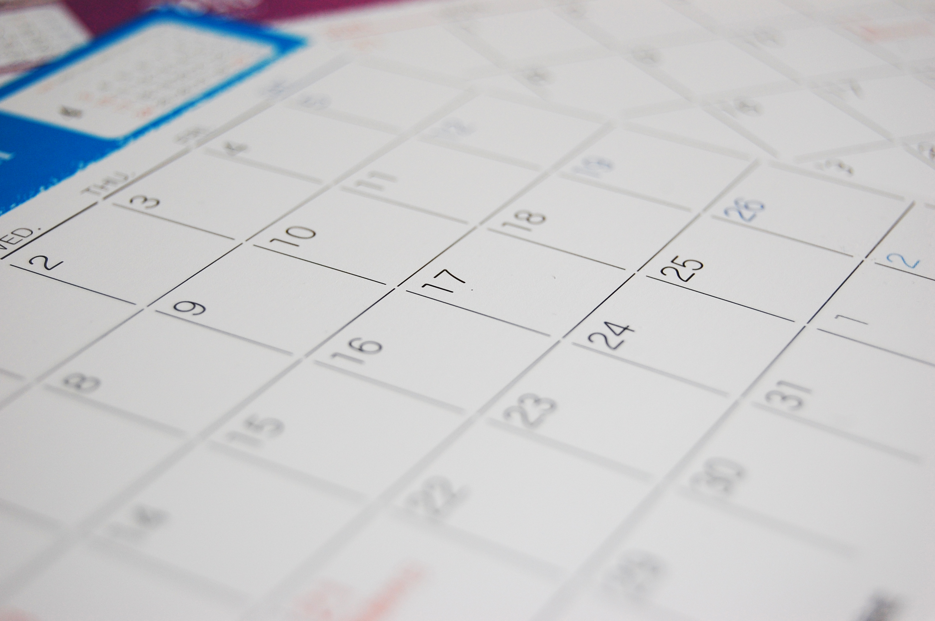 カレンダー・スケジュール帳 | フリー素材ドットコム