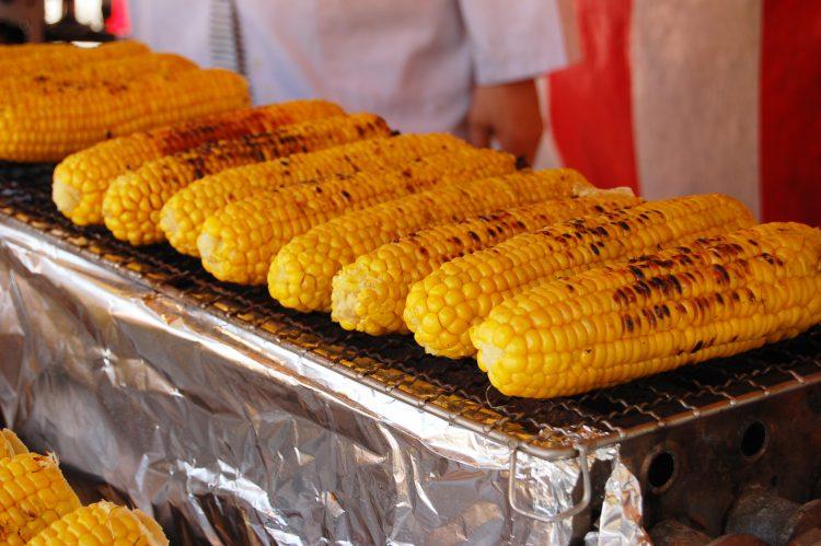 祭りトウモロコシ