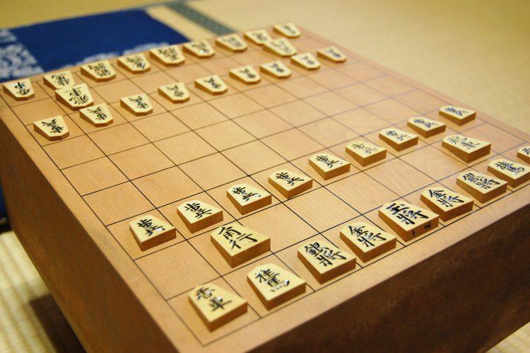 並んだ将棋の駒02